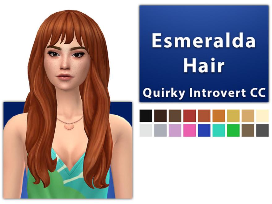 Esmeralda Hair Set