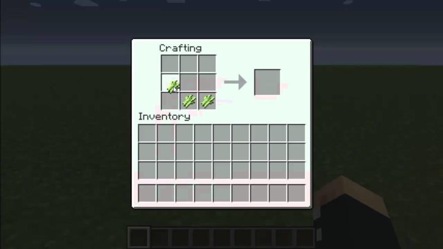 Make Paper In Minecraft