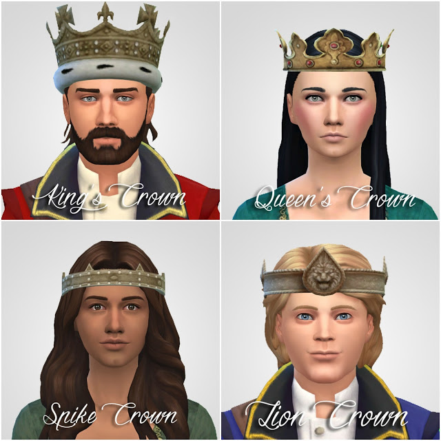 Sims 4 Crowns