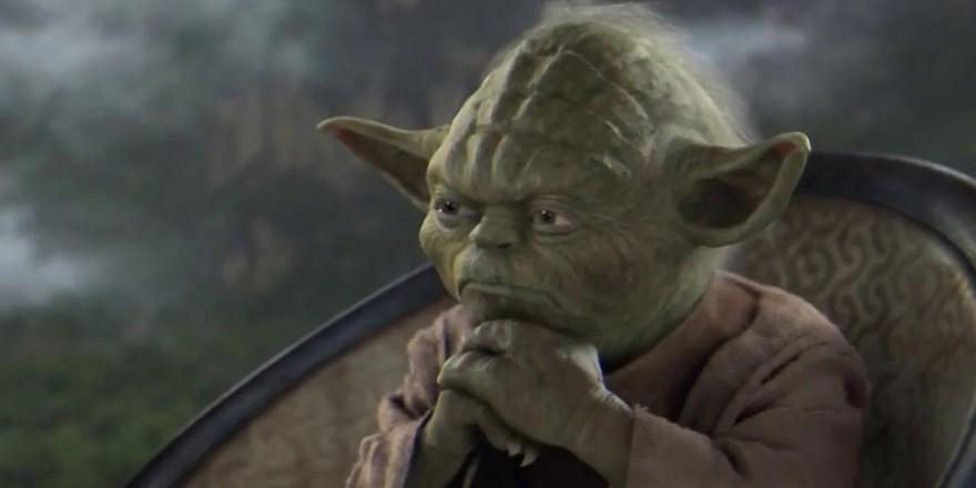 Yoda Contemplating
