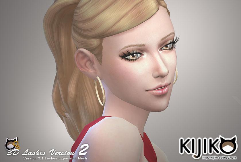 3d Lashes Version 2 By Kijiko