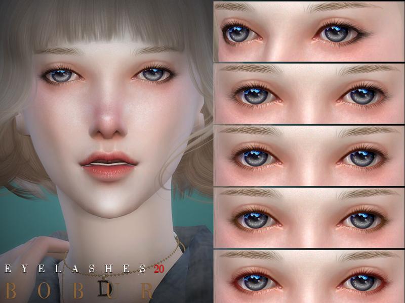 Bobur Eyelashes 20