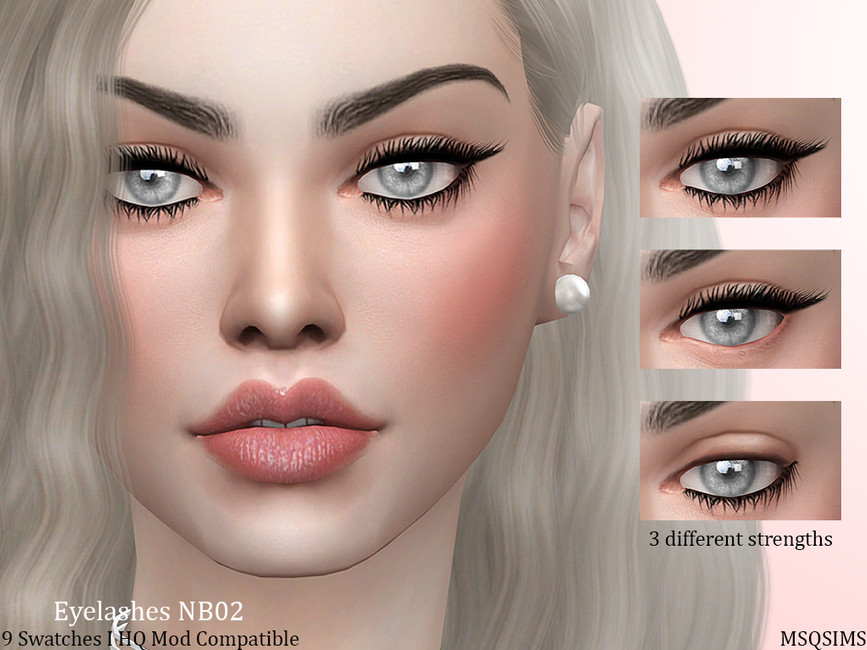 Eyelashes Nb02 By Mqsims#