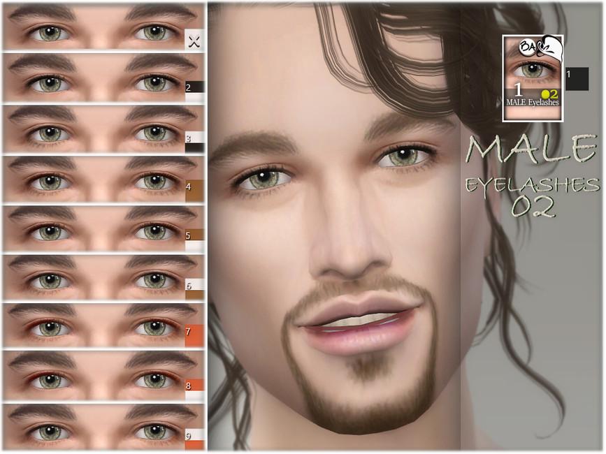 Male Eyelashes 02