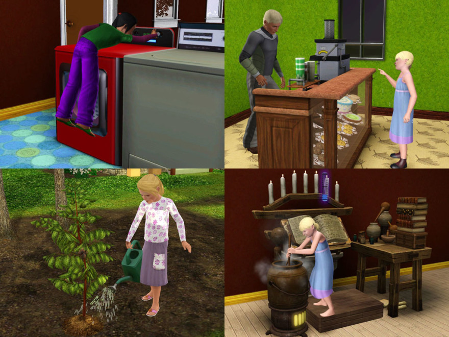 No Stretch Children Can Series Sims 3 Mod