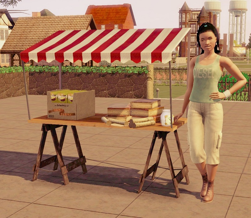 Produce Stand Sims 3
