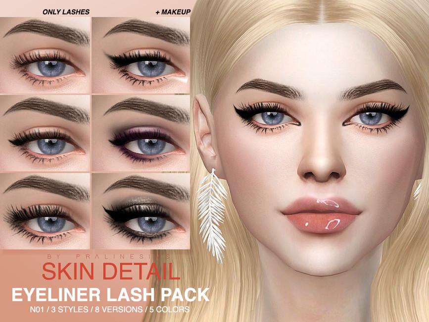 Skin Detail Lash Pack N01