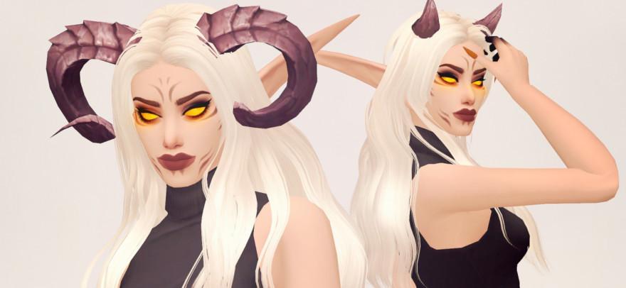 World Of Warcraft Demon Hunter Horns