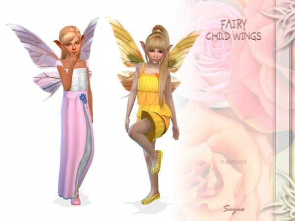 Fairy Child Wings