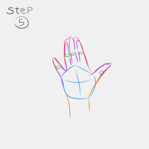 Anime Hand Palm View 5