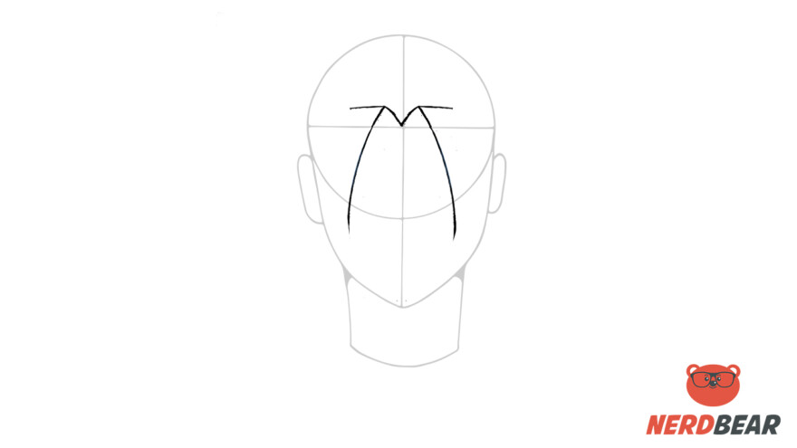 How To Draw Male Anime Hair Long Hair 2