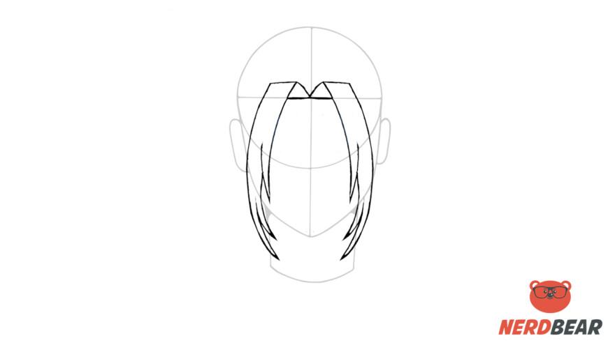 How To Draw Male Anime Hair Long Hair 4
