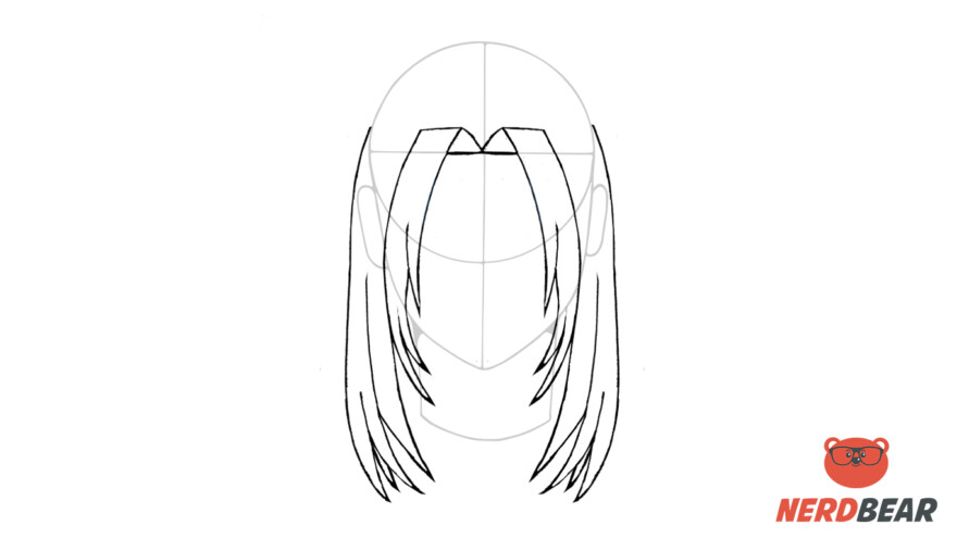 How To Draw Male Anime Hair Long Hair 6