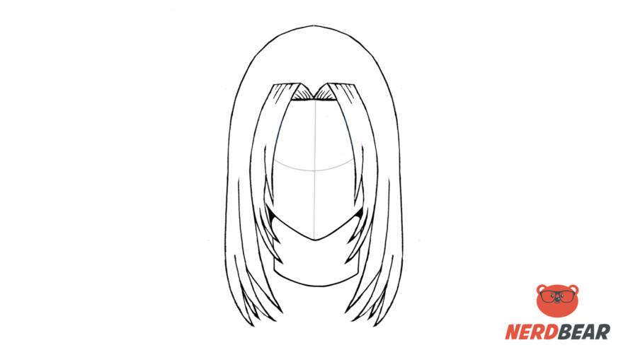 How To Draw Male Anime Hair Long Hair 9