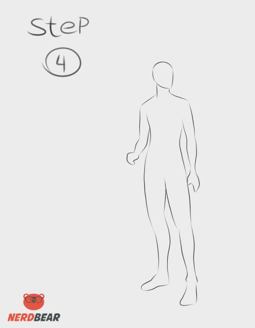 Standing Anime Boy 4