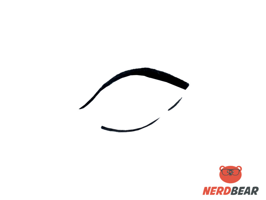 How To Draw Almond Shape Anime Eyes 1