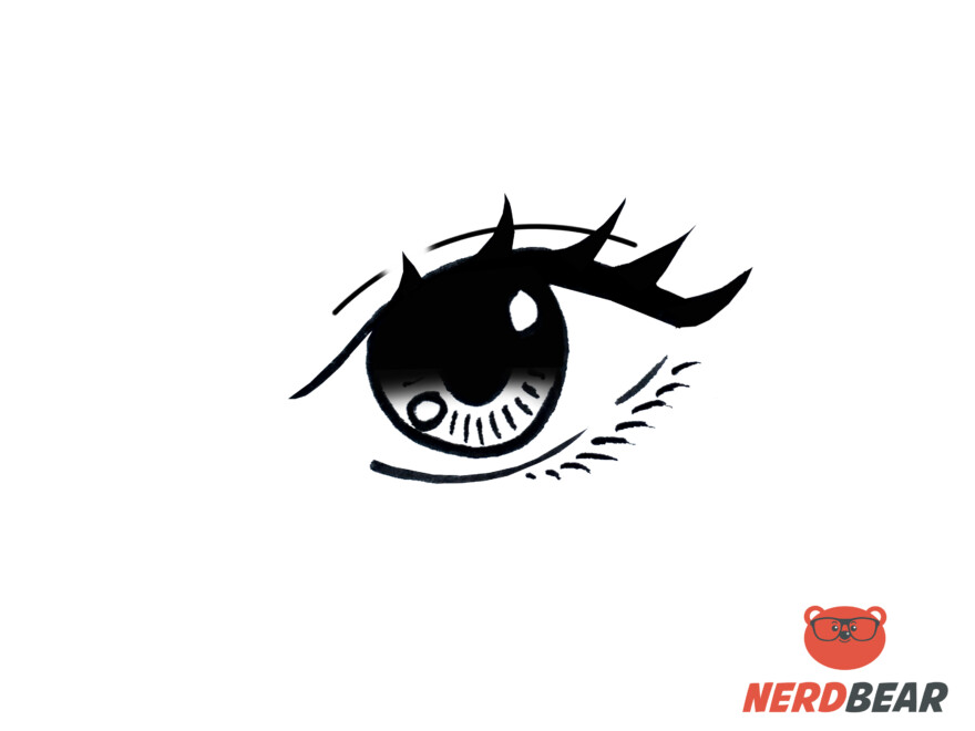 How To Draw Almond Shape Anime Eyes 10