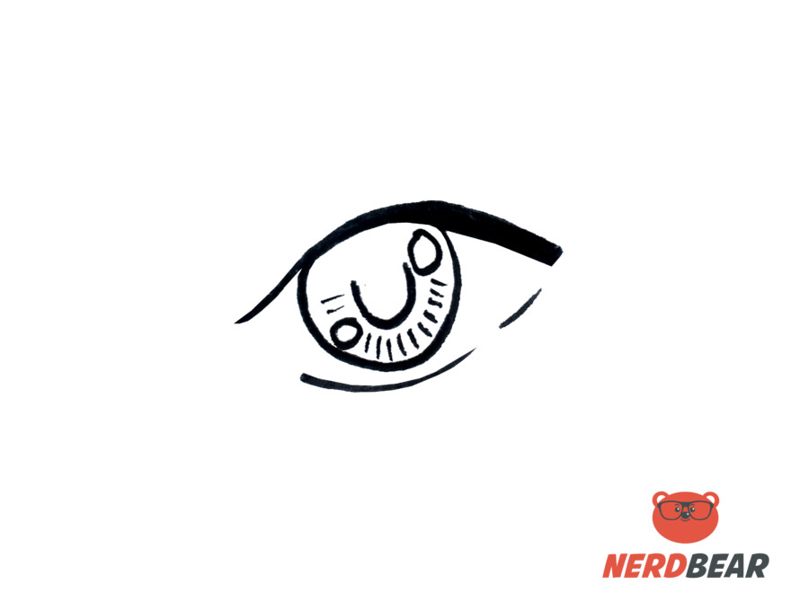 How To Draw Almond Shape Anime Eyes 4