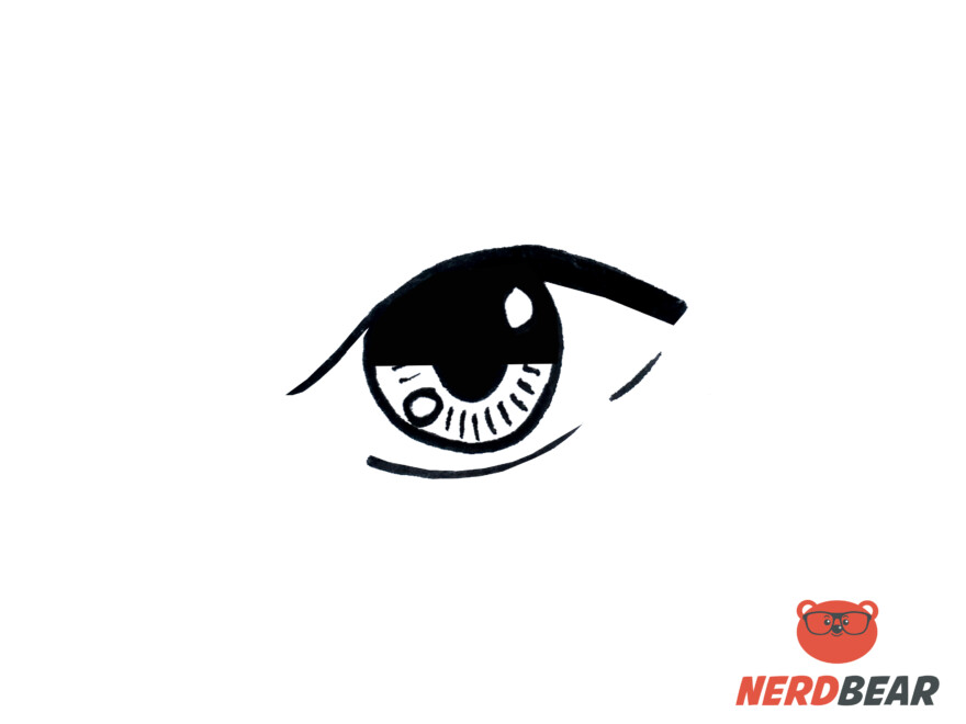 How To Draw Almond Shape Anime Eyes 5