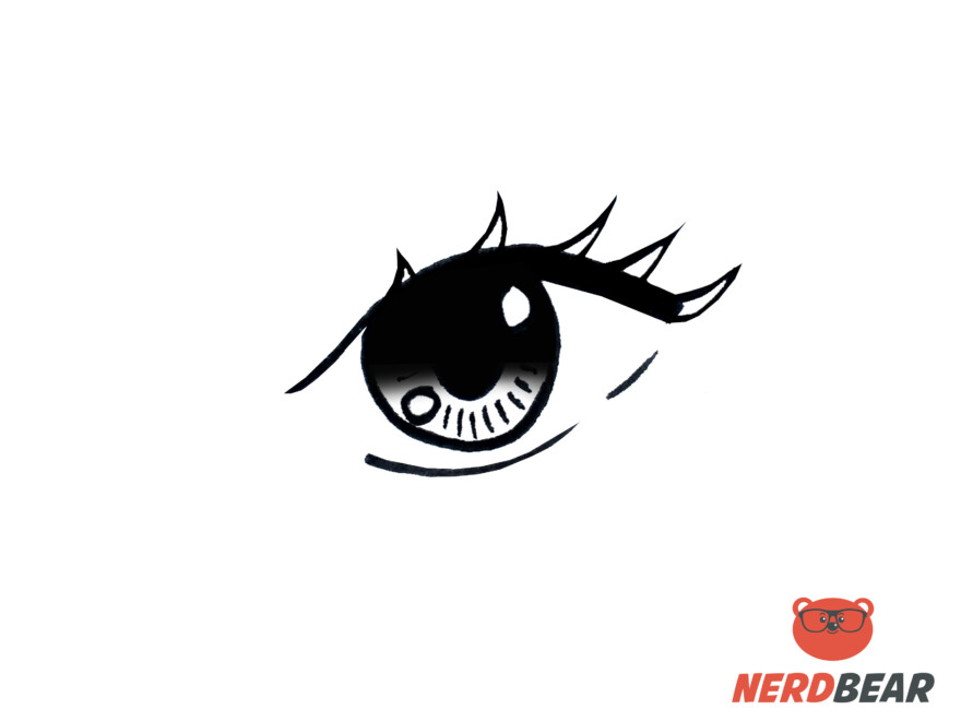 How To Draw Almond Shape Anime Eyes 8
