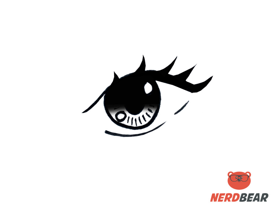 How To Draw Almond Shape Anime Eyes 9