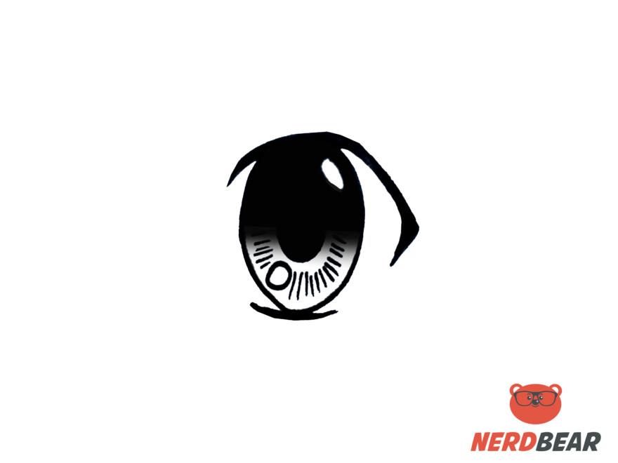 How To Draw Big Feminine Anime Eyes 6