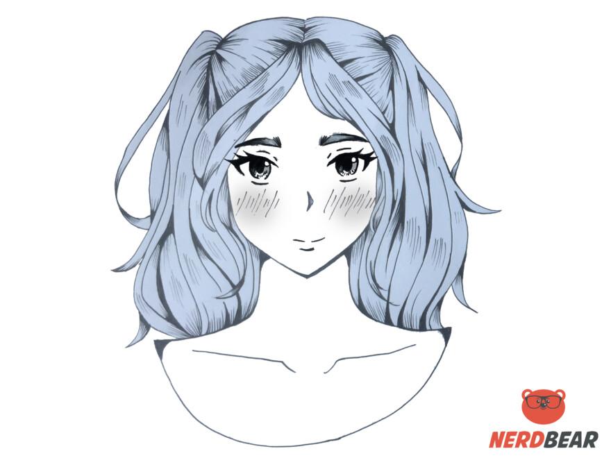 How To Draw Bright Cheek Anime Blush 2