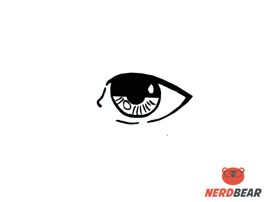 How To Draw Realistic Anime Eyes 6