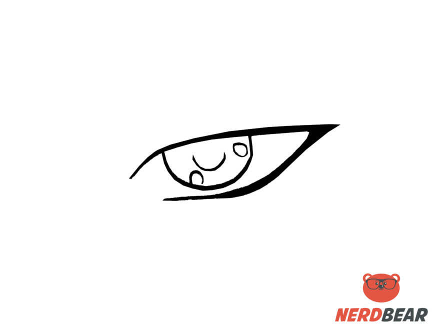 How To Draw Sharp Masculine Anime Eyes 3