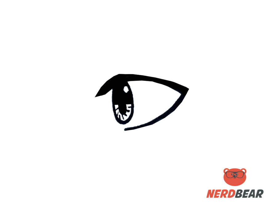 How To Draw Side Profile Anime Eyes 5
