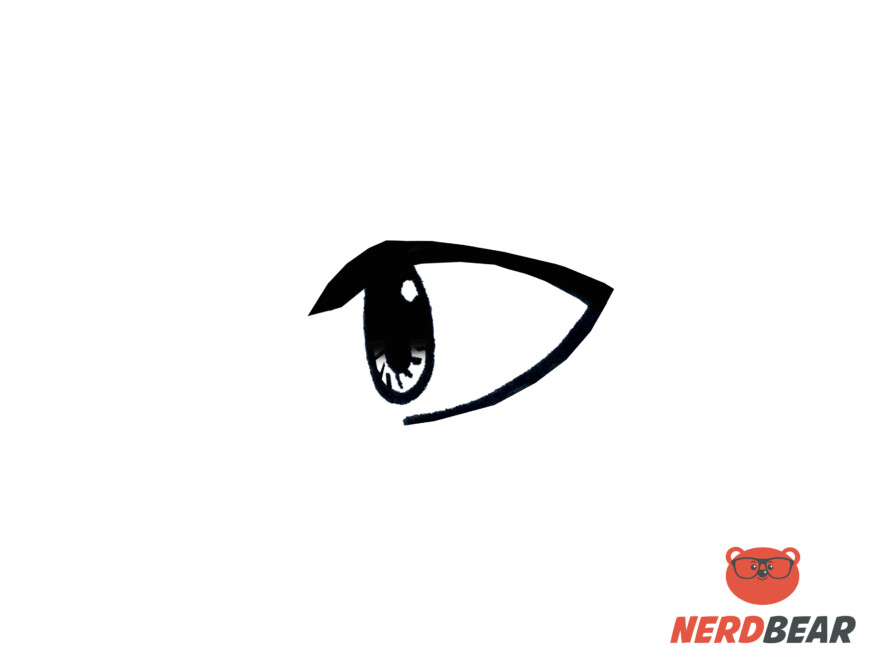 How To Draw Side Profile Anime Eyes 6