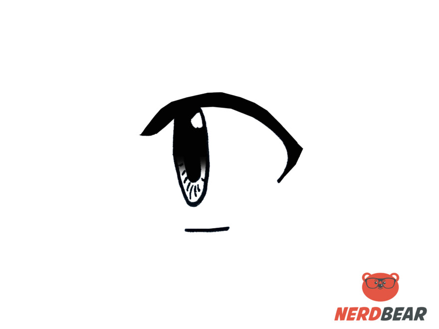 How To Draw Side Profile For Big Anime Eyes 6