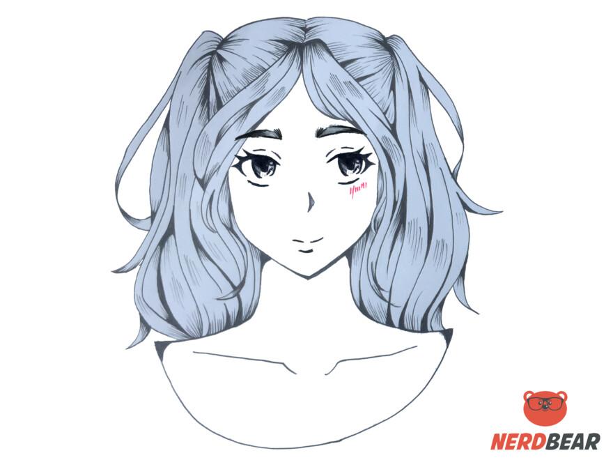 How To Draw Slight Anime Blush 2