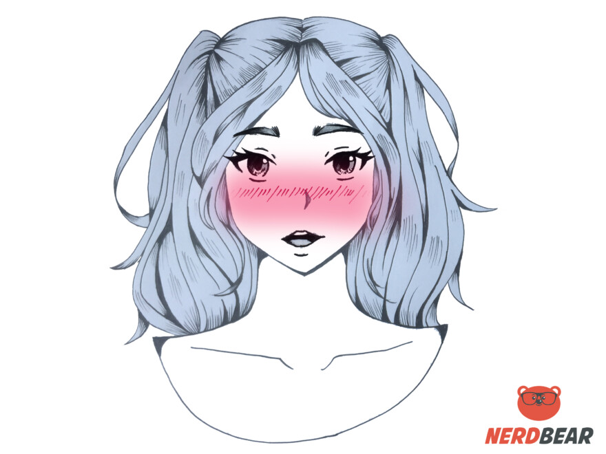 How To Draw The Drunk Intoxicated Anime Blush 3