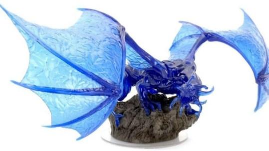 Sapphire Dragon Premium Figure