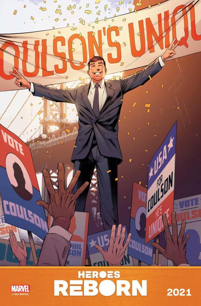 Agent Coulson, Running for President