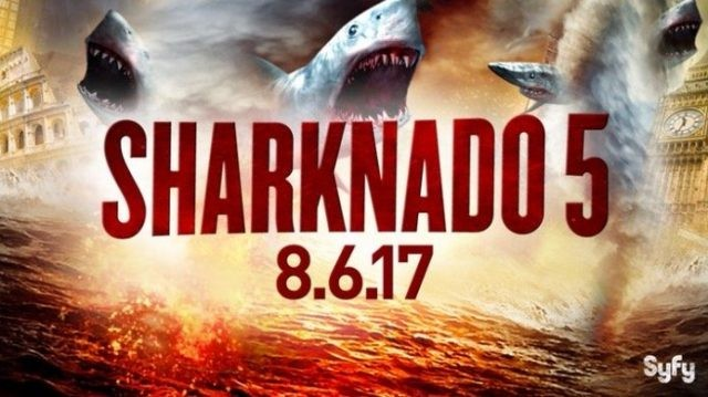 "Nerdeek Life Sharknado-5-News-2 Syfy's Sharknado 5: ""Make America Bait Again"" Nerdeek Life"