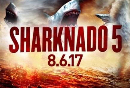"Nerdeek Life Sharknado-5-News-2 Syfy's Sharknado 5: ""Make America Bait Again"" Nerdeek Life"