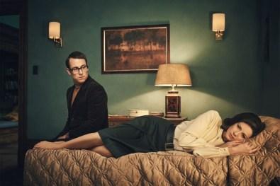 Tobias Menzies (Frank Randall), Caitriona Balfe (Claire Randall Fraser)- Outlander Season 3