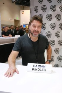 Executive producer Damian Kindler at Krypton signing