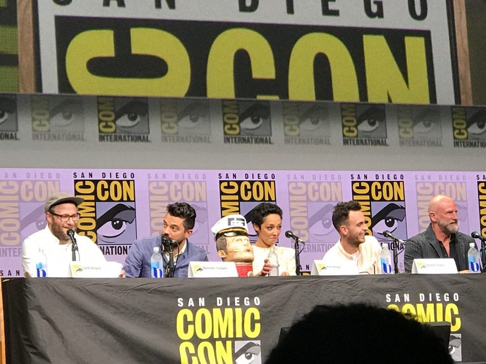 Nerdeek Life preacher-sdcc AMC's Preacher: Gore, the Grail, and God Conventions