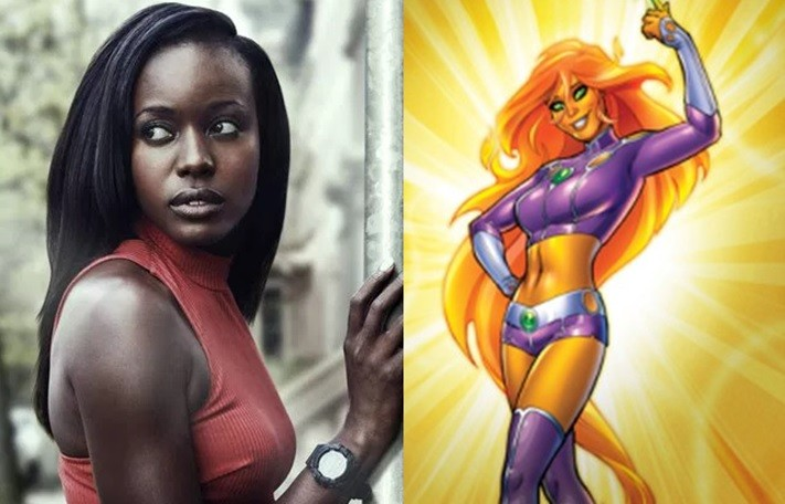 Nerdeek Life Starfire-Teen-Titans 24: Legacy Alum Anna Diop Cast As Starfire On Titans Nerdeek Life