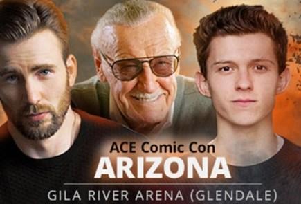 Nerdeek Life ACE_Universe_Stan_Lee_Chris_Evans_Tom_Holland Ace Comic Con Arizona 2018: Guest and Panel Roundup Conventions Nerdeek Life