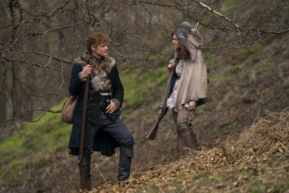 "Nerdeek Life Outlander-4x09-13 We're learning about the ""Birds and the Bees"" on this week's Outlander Nerdeek Life Roundtables"