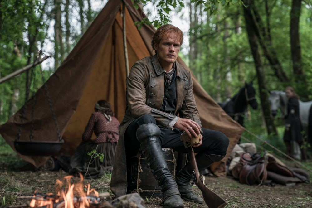 """Nerdeek Life Outlander-4x12-8 Was it """"Providence"""" for Roger and our Roundtable on this week's Outlander? Nerdeek Life Roundtables"""