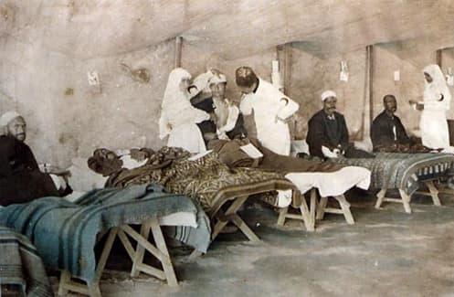 Balkan Harbi hemşireleri