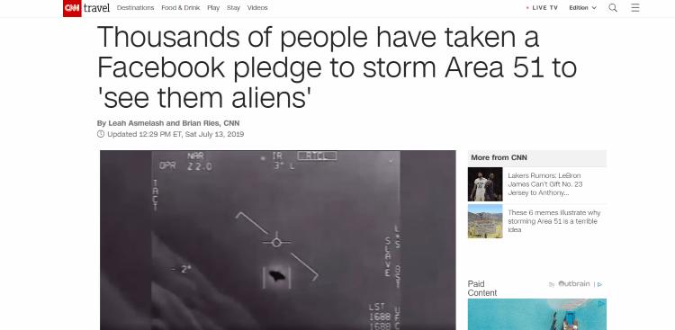 Weekly Wrapup – Area 51 Raid Edition