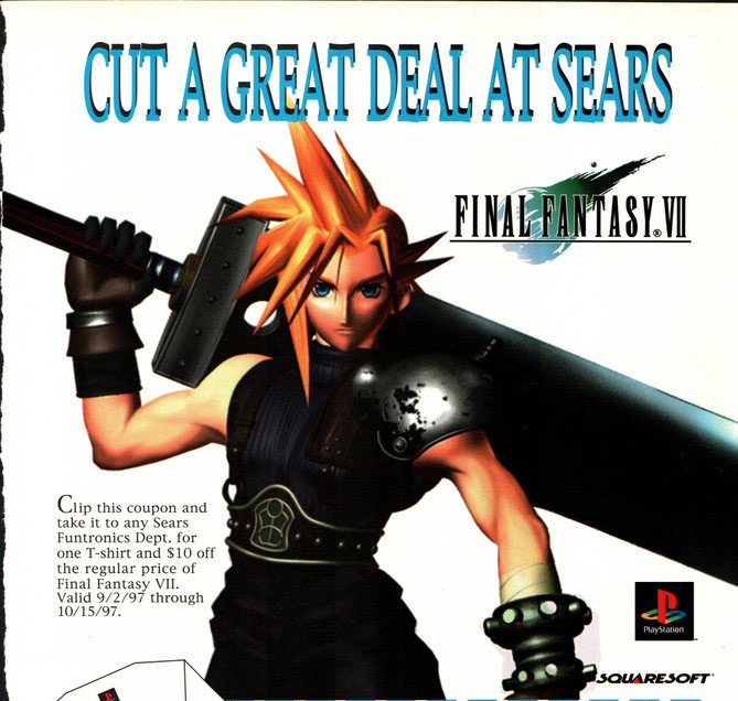 Weekly Wrapup – Final Fantasy Sears Edition