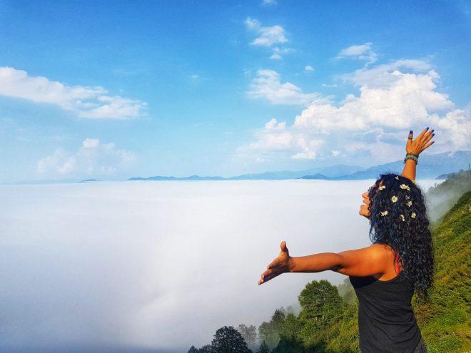 Macahel Küçükyayla Geçidi Bulut Denizi