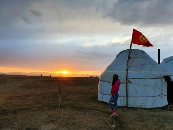 Son Göl, Kırgızistan'da Hayvanların Tatile Gittiği Yer